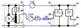 elektronischer Regler im DKW