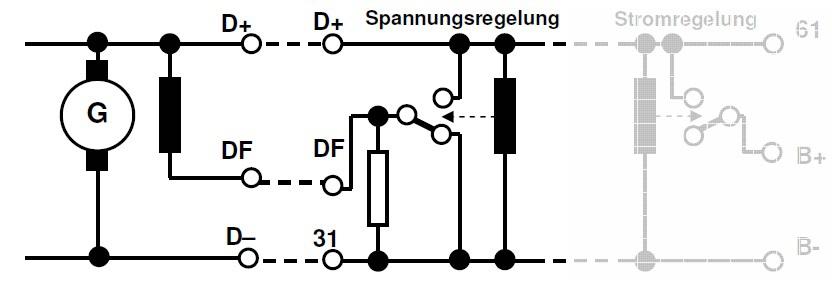 Umbau von Plusregelung auf Minusregelung - Autoelektrik an Oldies ...